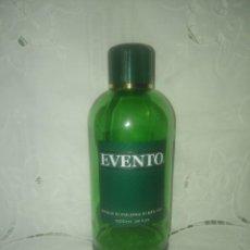 Miniaturas de perfumes antiguos: FRASCO BOTELLA VACÍO DE 1 LITRO DE COLONIA EVENTO DE LUXANA,BARCELONA.. Lote 104914151