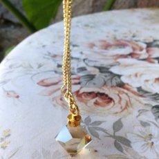 Miniaturas de perfumes antiguos: MISS ARPELS, COLGANTE INCREÍBLE BRILLO.. Lote 105022795