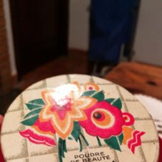 Miniaturas de perfumes antiguos: CAJA DE POLVOS, DULCIA DE CHERAMY. Lote 105051167