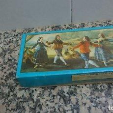 Miniaturas de perfumes antiguos: CAJA 3 JABONES SIGLO DE ORO. Lote 105869715