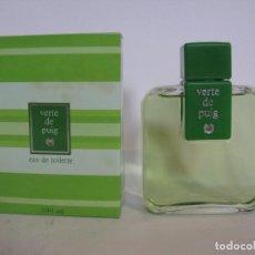Miniaturas de perfumes antiguos: COLONIA VERTE DE PUIG - 100 ML - NUEVO A ESTRENAR - DESCATALOGADO - AÑOS 70 - REFERENCIA 205031 -. Lote 137360289