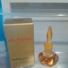 Miniaturas de perfumes antiguos: PERFUME MINIATURA ALCHIMIE DE ROCHAS. Lote 114758799