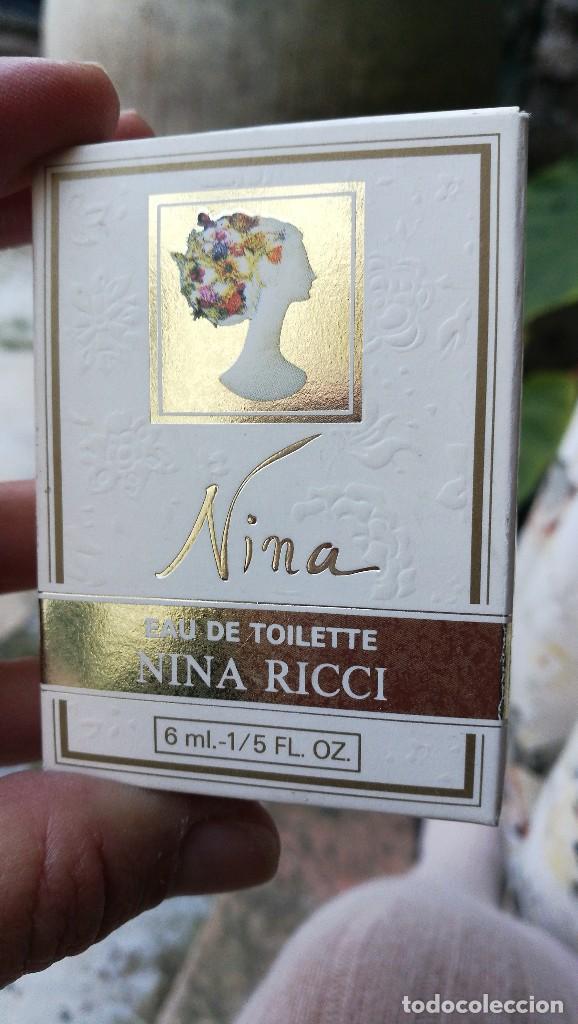 Miniaturas de perfumes antiguos: MUESTRA NINA RICCI. - Foto 4 - 107907295