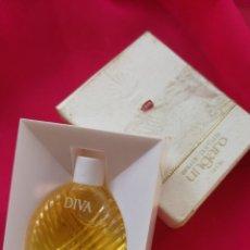 Miniaturas de perfumes antiguos: THE COLLECTION PARFUM- MINIATURA DE PERFUME DIVA- UNGARO- EAU DE PARFUM, PARIS (FRANCE).. Lote 108025223