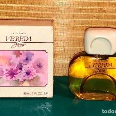 Miniaturas de perfumes antiguos: COLONIA VEREDA FLEUR DE PARERA, AÑOS 80´S 30 ML.. Lote 108815503