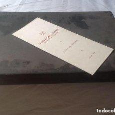Miniaturas de perfumes antiguos: ESTUCHE DE MUESTRAS.. Lote 109322591