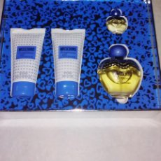 Miniaturas de perfumes antiguos: ESTUCHE PERFUME TOUJOURS GLAMOUR DE MOSCHINO. Lote 110079215