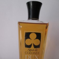 Miniaturas de perfumes antiguos: AGUA DE COLONIA DUX DE GAL - USADO - APROXIMADAMENTE 90 ML - 13X6 CM -. Lote 110084271