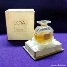 Miniaturas de perfumes antiguos: ANTIGUO FRASCO DE PERFUME JOYA DE MYRURGIA. ESPAÑA. EN SU CAJA ORIGINAL. AÑOS 50. MINIATURA.. Lote 110128723