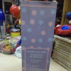 Miniaturas de perfumes antiguos: COLONIA AVON TASHA.MADRE CON NIÑO 50 ML.AÑOS 70. Lote 110273019
