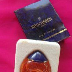 Miniaturas de perfumes antiguos: THE COLLECTION PARFUM- MINIATURA DE PERFUME BOUCHERON, EAU DE PARFUM - PARIS (FRANCE).. Lote 110651355