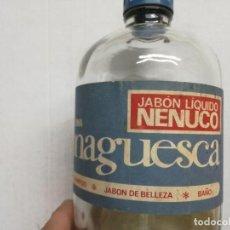 Miniaturas de perfumes antiguos: BOTELLA JABÓN LÍQUIDO MONAGUESCA NENUCO 1 LITRO . Lote 111326651
