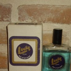 Miniaturas de perfumes antiguos: BLUE AFTER SHAVE LUCKY 100ML.. Lote 111498335