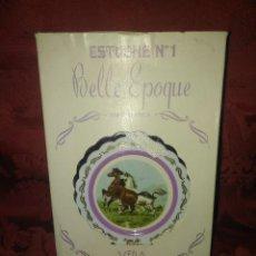 Miniaturas de perfumes antiguos: ESTUCHE COLONIA EAU DE TOILETTE VENTOLERA DE LA CASA VERA. Lote 111548179