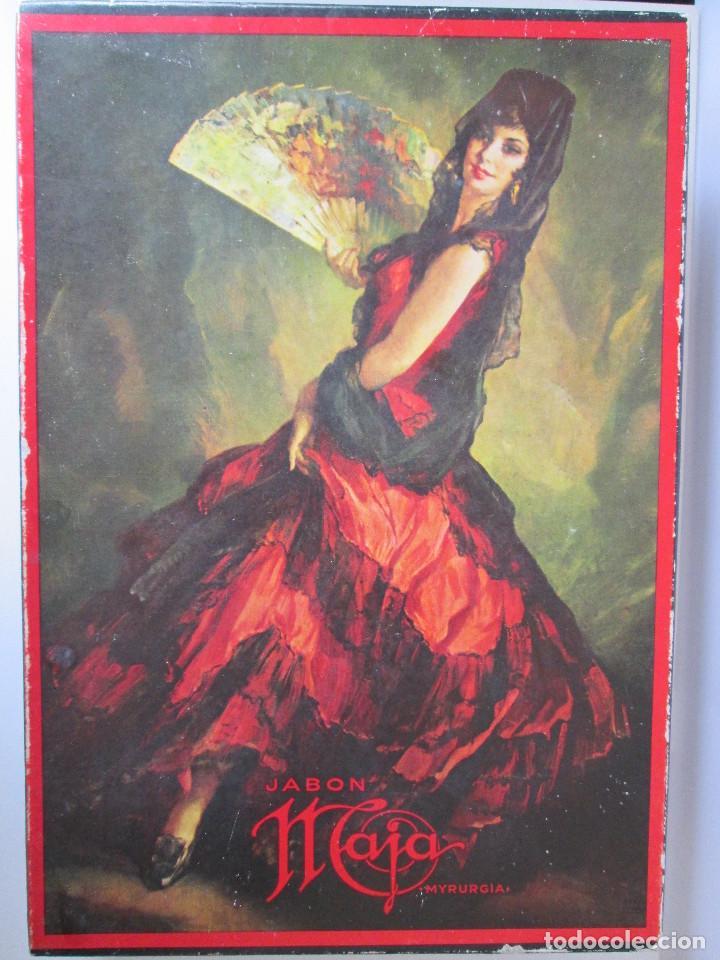 CAJA VACIA DE JABON MAJA DE MYRURGIA - 24X17X4 (Coleccionismo - Miniaturas de Perfumes)