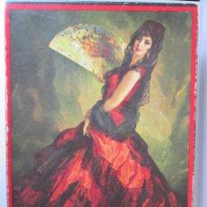 Miniaturas de perfumes antiguos: CAJA VACIA DE JABON MAJA DE MYRURGIA - 24X17X4. Lote 111990723