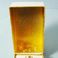 Miniaturas de perfumes antiguos: JOYA, DE MYRURGIA. LOCIÓN EN SU CAJA ORIGINAL. BOTELLA LLENA. . Lote 113046631