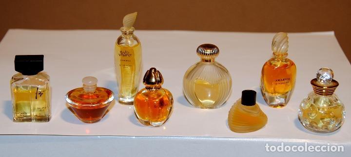 GRUPO COLECCIÓN 8 MINIATURAS PERFUMES (Coleccionismo - Miniaturas de Perfumes)