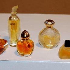 Miniaturas de perfumes antiguos: GRUPO COLECCIÓN 8 MINIATURAS PERFUMES. Lote 113113527