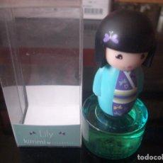 Miniaturas de perfumes antiguos: MINI**LILY**8 ML.** KIMMI** PARFUM C/CAJA. SON PRECIOSAS. Lote 113254731
