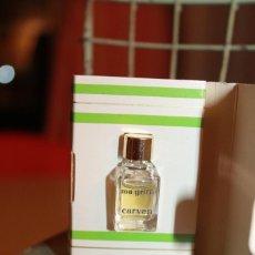 Miniaturas de perfumes antiguos: CARVEN PARIS. MA GRIFFE.. Lote 113280907