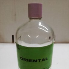 Miniaturas de perfumes antiguos: BOTELLA DE COLONIA A GRANEL 1L-ORIENTAL. FRANCISCO ARAGON .PERFUMES. Lote 113612407