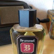 Miniaturas de perfumes antiguos: **ANTIGUA BOTELLA DE COLONIA,----BRUMEL----LLENA, A ESTRENAR (50 ML)**. Lote 113918959