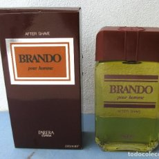 Miniaturas de perfumes antiguos: AFTER SHAVE BRANDO POUR HOMME - PARERA - 220ML Nº3916. Lote 114048595