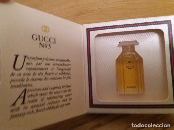 Gucci No 3 Mini Parfum 010oz 3ml Full New Buy Miniatures Of