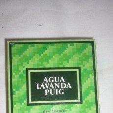 Miniatures of antique perfumes - AGUA LAVANDA PUIG FRASCO ENTERO (PROMOCIÓN IBERCAJA) - 115311875