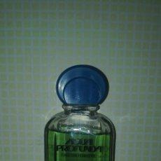 Miniaturas de perfumes antiguos: AGUA PROFUNDA DE PARERA DESAPARECIDA 90 ML.. Lote 115326267