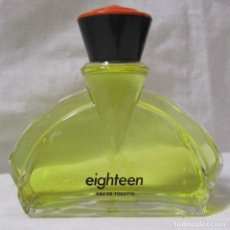 Miniaturas de perfumes antiguos: COLONIA EIGHTEEN DE PUIG 100 ML. Lote 115514095