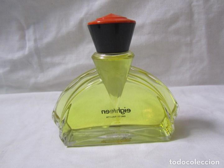Miniaturas de perfumes antiguos: Colonia Eighteen de Puig 100 ml - Foto 3 - 115514095