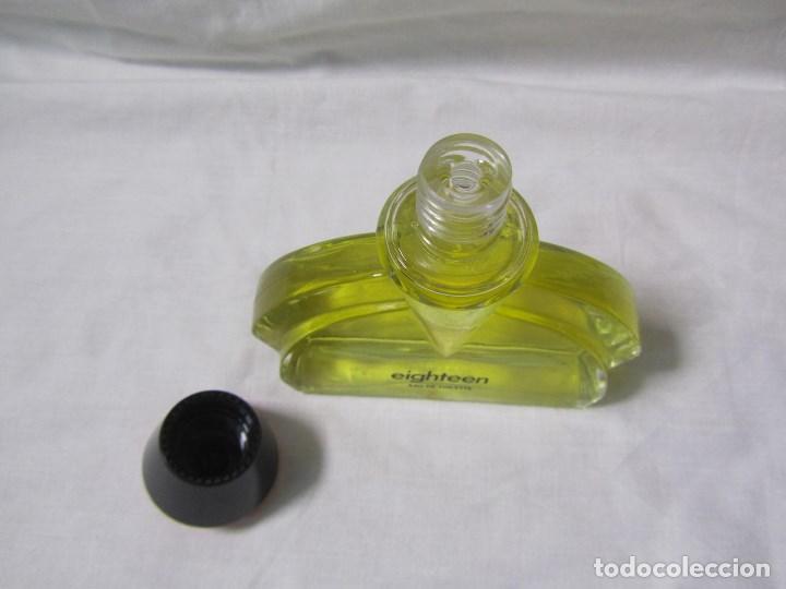 Miniaturas de perfumes antiguos: Colonia Eighteen de Puig 100 ml - Foto 5 - 115514095
