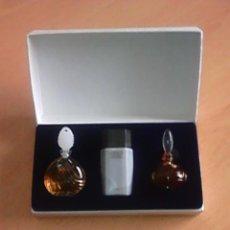 Miniaturas de perfumes antiguos: TED LAPIDUS PARFUM PARIS COLLECTION MINIATURES ESTUCHE. Lote 115517607