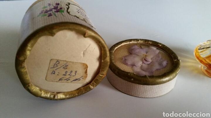 Miniaturas de perfumes antiguos: MINIATURA ESSENCE VIOLETTES DE TOULOUSE BERDOUES - Foto 5 - 116738456