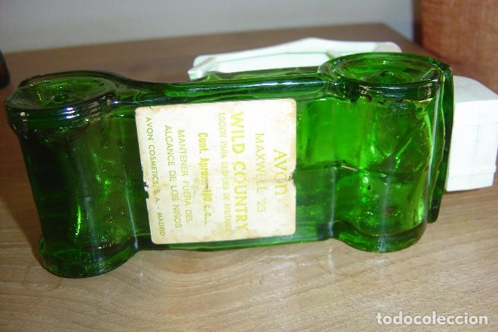 Miniaturas de perfumes antiguos: ANTIGUA BOTELLA FRASCO COLONIA AVON. VACÍA - Foto 2 - 117028307