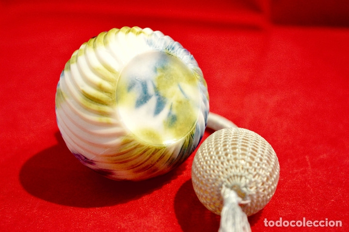 Miniaturas de perfumes antiguos: PRECIOSO PERFUMERO EN PORCELANA - Foto 5 - 57728004