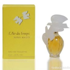 Miniaturas de perfumes antiguos: MINIATURA L'AIR DU TEMPS BY NINA RICCI EDT 4ML NUEVA.. Lote 117673095