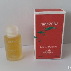 Miniaturas de perfumes antiguos: MINIATURA AMAZONE DE HERMES. Lote 118077883