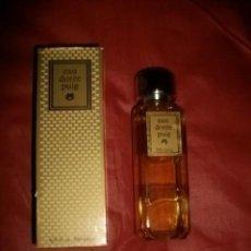 Miniaturas de perfumes antiguos: PERFUME VINTAGE: EAU DORÉE PUIG, 200ML, EN SU CAJA. Lote 118733087