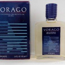 Miniaturas de perfumes antiguos: VORAGO - AFTER SHAVE 100 ML - SIN ESTRENAR - SIN ABRIR - DESCATALOGADA - MYRURGIA - AÑOS 80. Lote 118933487