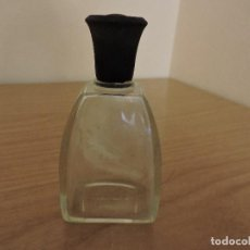 Miniaturas de perfumes antiguos: ANTIGUA BOTELLA COLONIA MYRURGIA LETRAS RELIEVE EN BASE AÑOS 50/60 POSIBLEMENTE ORGIA. Lote 119530839