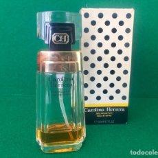Miniaturas de perfumes antiguos: PERFUME CAROLINA HERRERA 50 ML VINTAGE CON CAJA. Lote 119551206