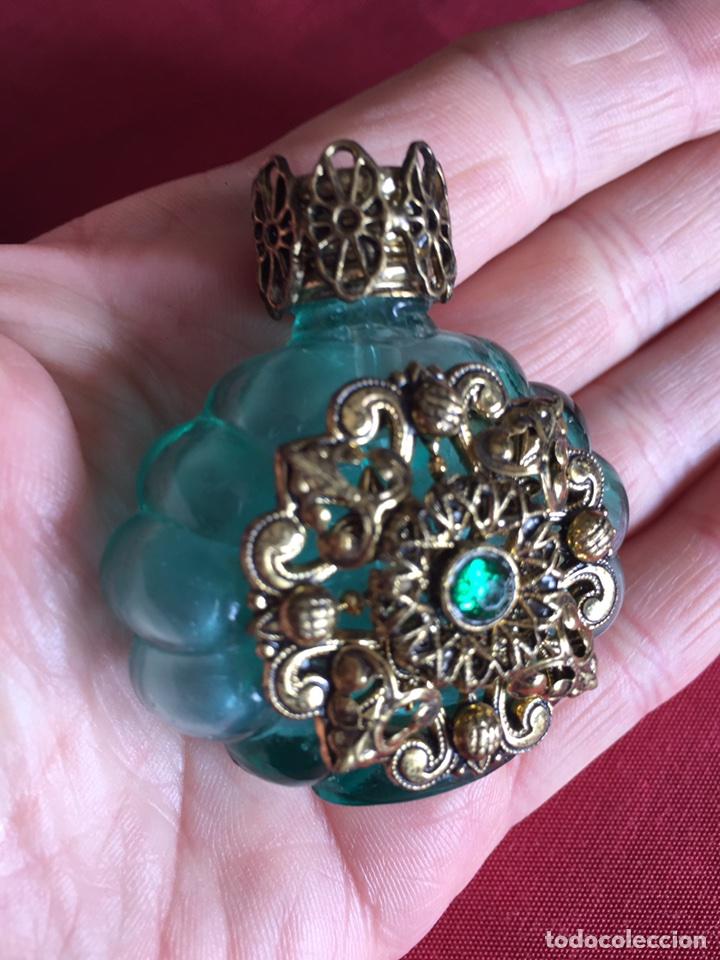 PRECIOSA BOTELLITA PERFUMERO ANTIGUA (Coleccionismo - Miniaturas de Perfumes)
