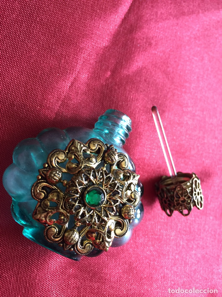 Miniaturas de perfumes antiguos: Preciosa botellita perfumero antigua - Foto 2 - 119872763