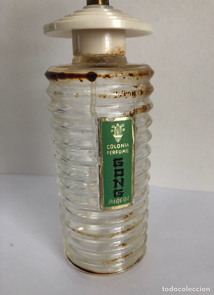 Miniaturas de perfumes antiguos: ANTIGUO FRASCO DE COLONIA PERFUME GONG DE PARERA - Foto 6 - 120817876