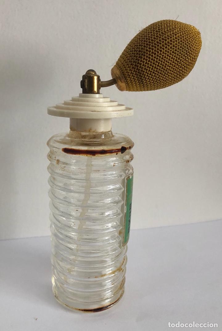 Miniaturas de perfumes antiguos: ANTIGUO FRASCO DE COLONIA PERFUME GONG DE PARERA - Foto 9 - 120817876