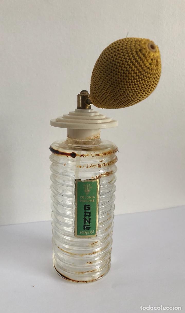 Miniaturas de perfumes antiguos: ANTIGUO FRASCO DE COLONIA PERFUME GONG DE PARERA - Foto 10 - 120817876