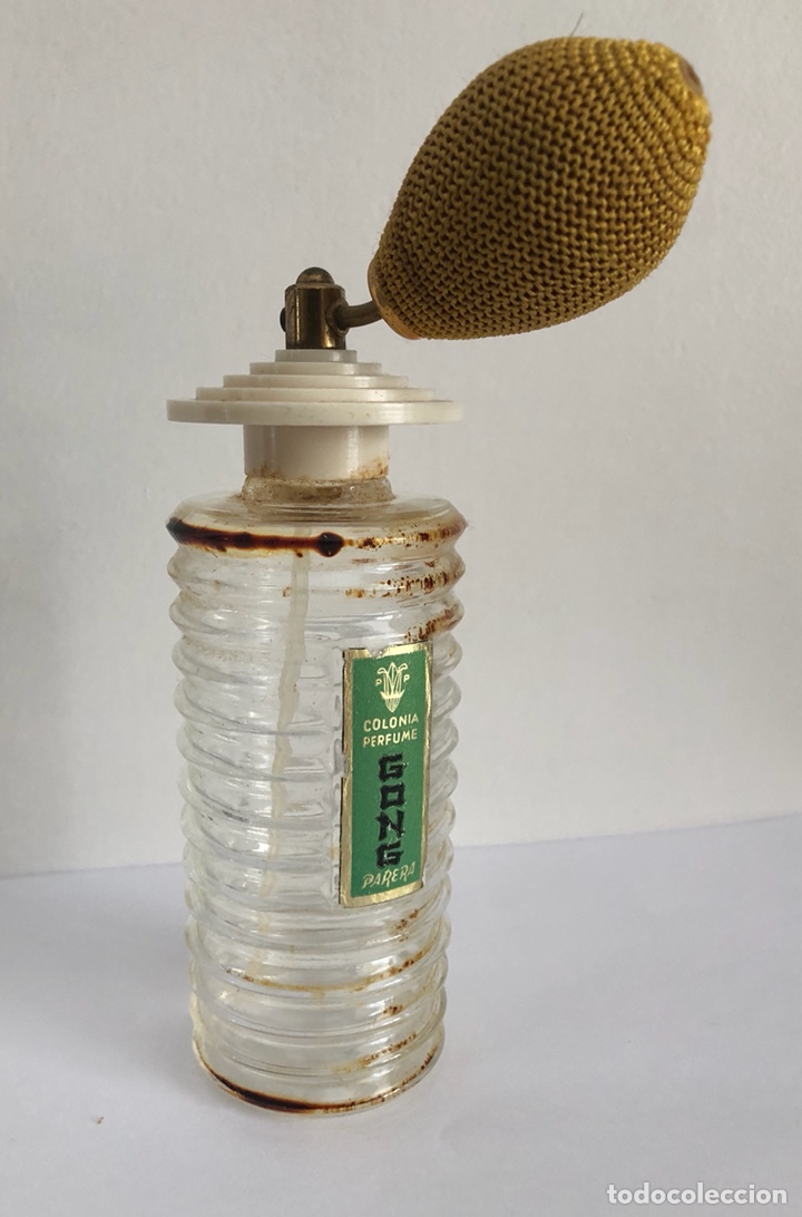 Miniaturas de perfumes antiguos: ANTIGUO FRASCO DE COLONIA PERFUME GONG DE PARERA - Foto 11 - 120817876